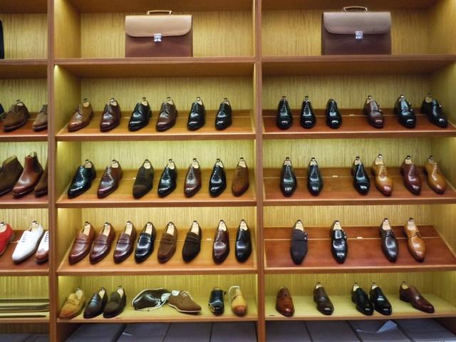 革靴を買いに行く。お店選び&店...