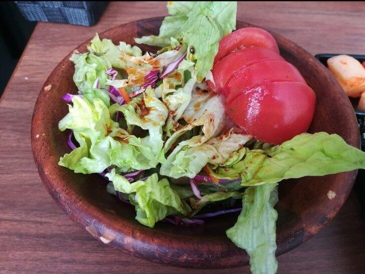 ハヌリのサラダ