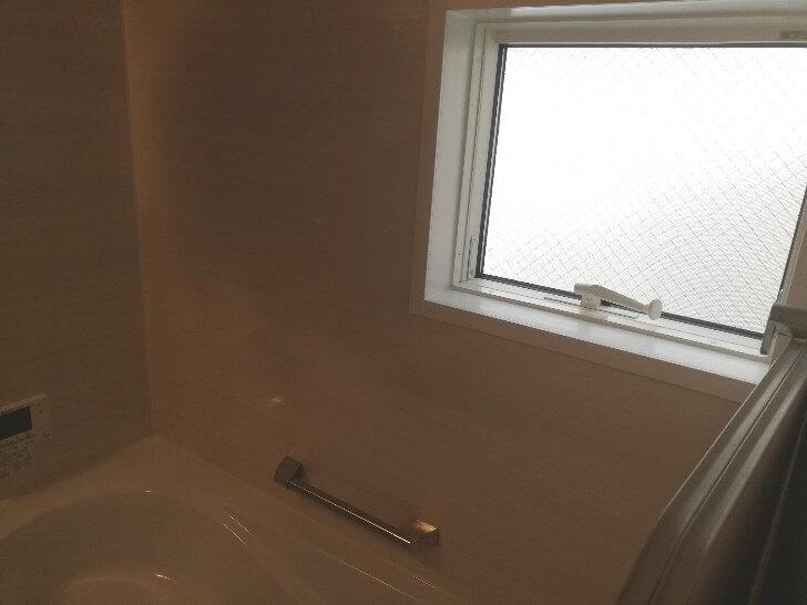 浴室の窓はいらなかったかも…