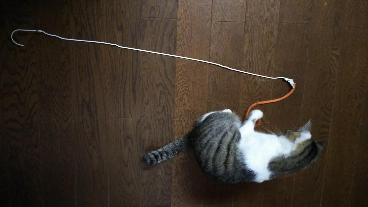 猫じゃらし 自作 手作り