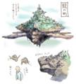 [いろいろ絵]龍の町