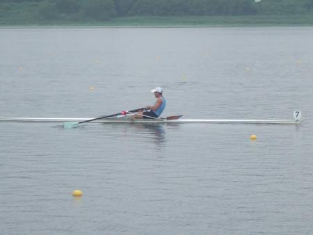 H18社会人選手権:予選レースの漕ぎ