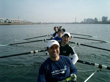 H190121 50km遠漕会西新井橋付近
