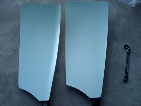 Smoothieブレードの新旧比較(左:旧型、右:新型)