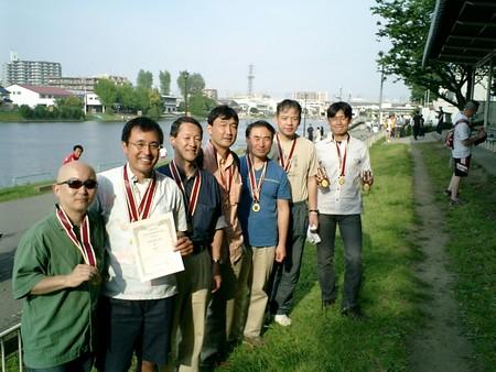 H190505戸田国際マスターズ金メダルを貰ったLBRCクルー