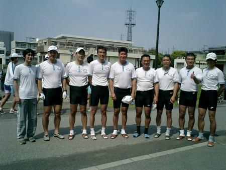 2008年東商戦OB2000mレースクルー