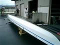 最新型KF艇:重量は85kg、4人で軽々持ち運び出来る