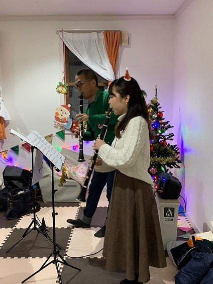田中正敏さんと添石紗静さん