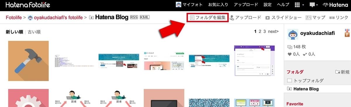 Hatena Blogフォルダ