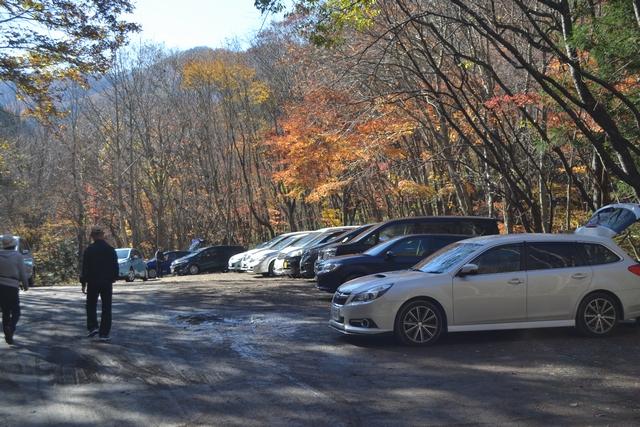 達沢不動滝駐車場
