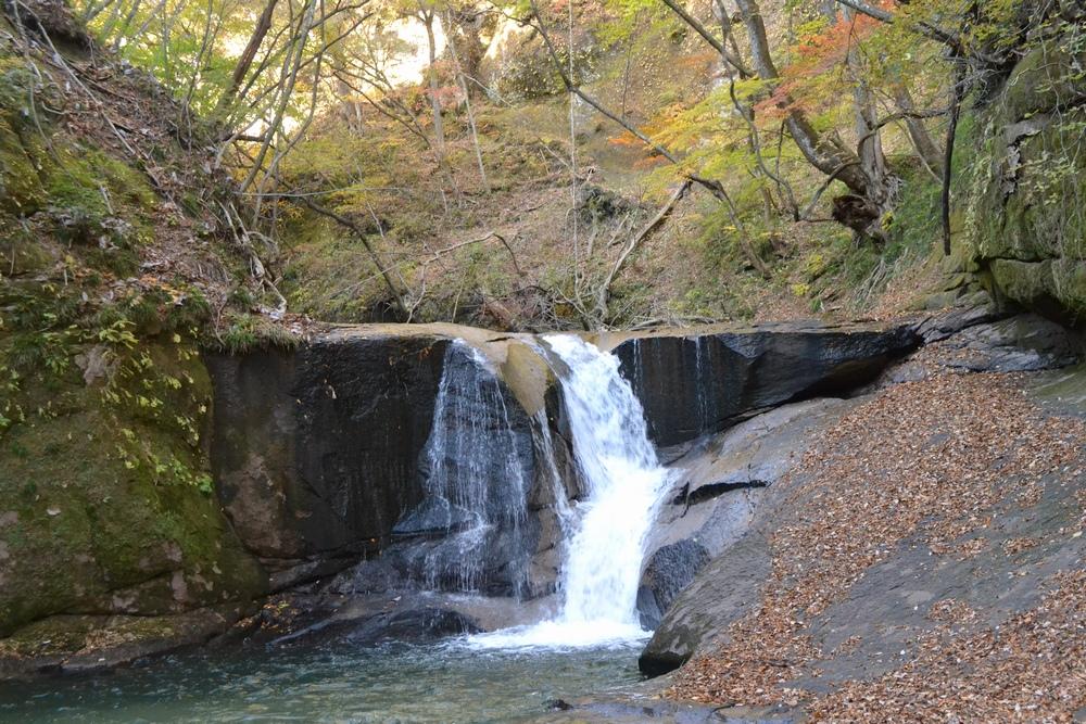 一休みの滝、福島県西郷村