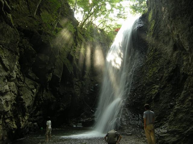 子の神の滝
