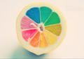 [レモン][style|カラフル][果物][カラフル]虹色レモン。