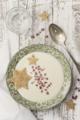 [スープ][流れ星][food][season|冬][style|ナチュラル][food|スープ][color|白] 流れ星いただきます。
