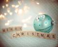 [クリスマス][season 冬][文字 Merry Christmas][season  クリスマス][color 水色][style クリスマス] クリスマス