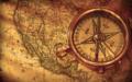 [style|航海][style|アンティーク][方位磁石][地図][color|茶色] 方位磁石