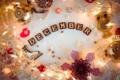 [英語][12月][season][December][season|12月][style|キラキラ][color|ゴールド][文字|December] December
