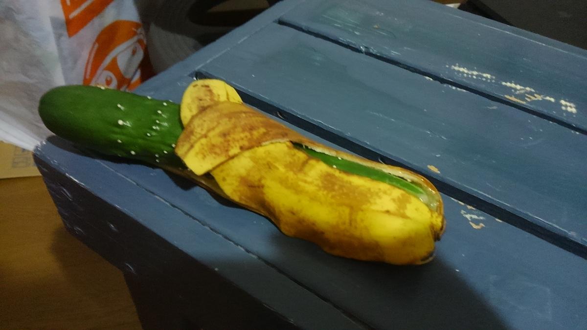 バナナ キュウリ 果物 野菜