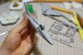 [A-4][スカイホーク][Skyhawk][TAMIYA]機体を貼り合わせたの図