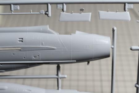 BAC ライトニング F Mk.6の凸モールド