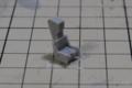 [Hasegawa][F-8E Crusader]キットのシート加工