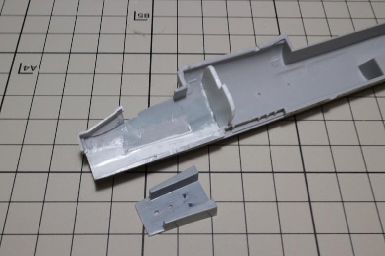 F-8Eの機体内部