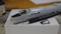 [Hasegawa][F-8E Crusader]機首部分ツライチに調整中