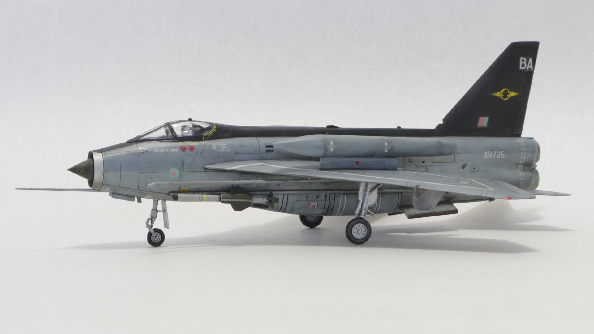 Hasegawa 1/72 Lightning F Mk.6