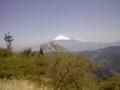 どっかから撮った富士山