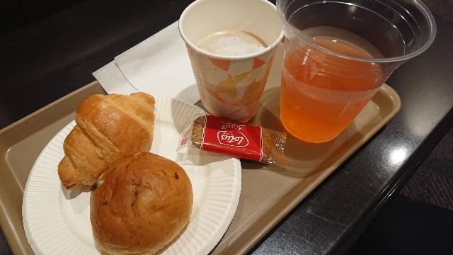 カードラウンジ 朝食