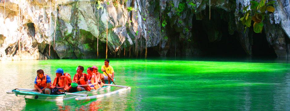 パラワン島世界遺産アンダーグラウンドリバーツアー