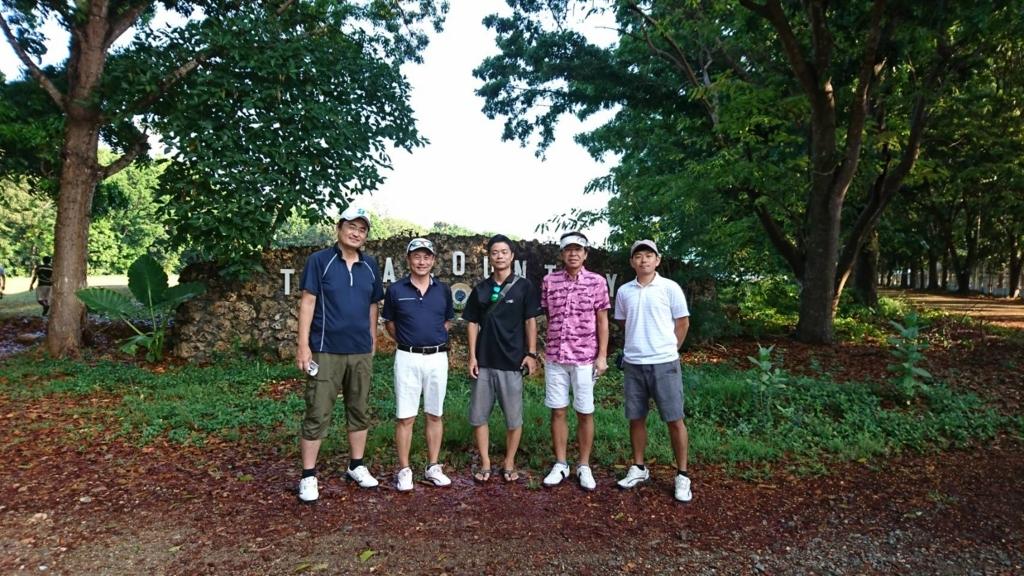 ゴルフの様子