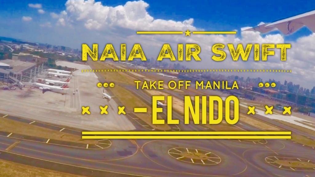 マニラ空港からエルニド空港