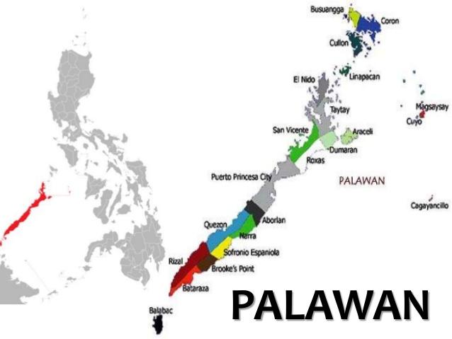 パラワン島地域