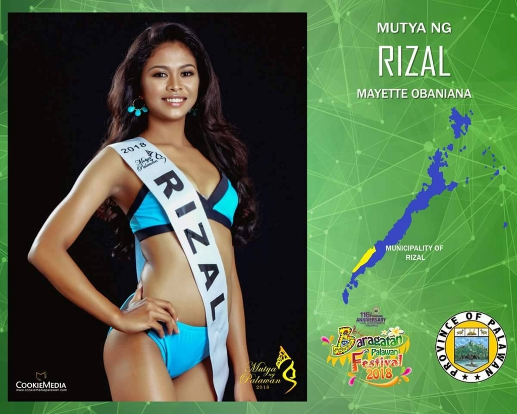パラワン島美女コンテスト候補者2
