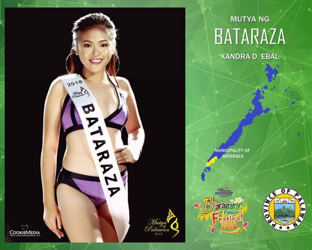 パラワン島美女コンテスト候補者1