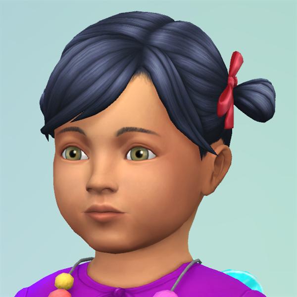 Marjorie Hügler(toddler)