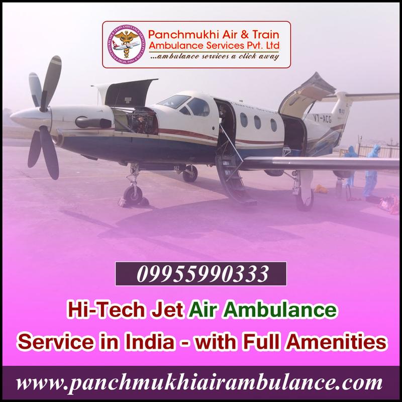 Hi-Tech Air Ambulance Service in Delhi – Panchmukhi