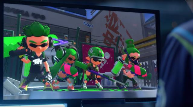 Nintendo Switch Online Splatoon
