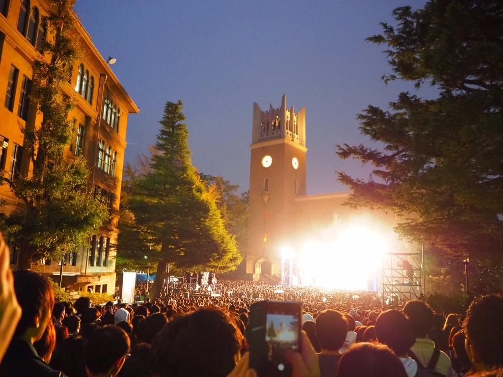 早稲田祭の観客