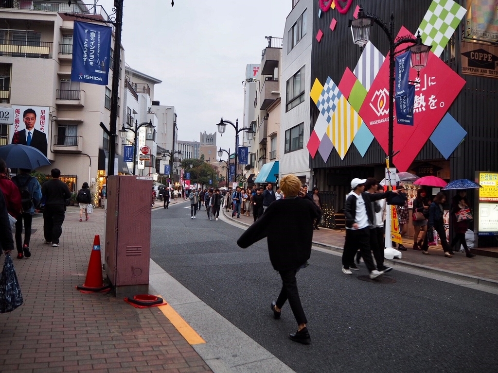 早稲田祭の装飾
