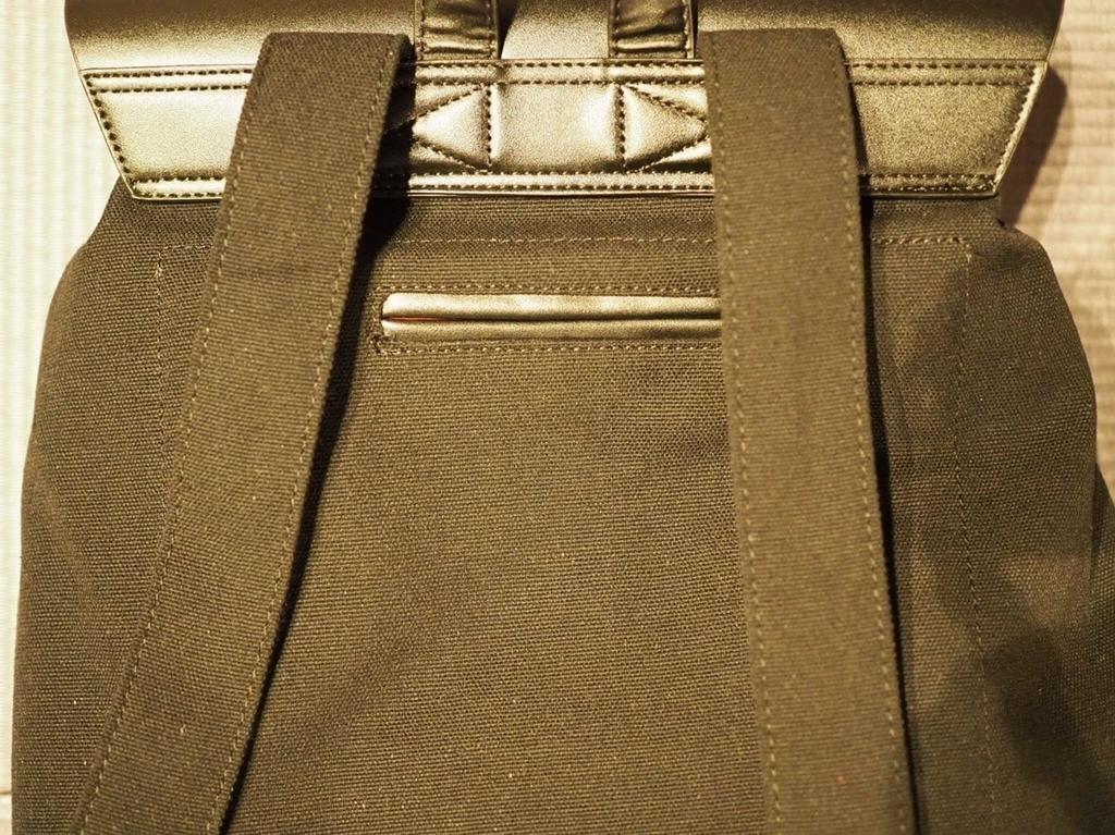 ガストン・ルーガの背面ポケット