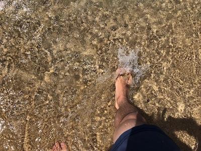水晶浜海水浴場は、とにかく「海水」が綺麗です。