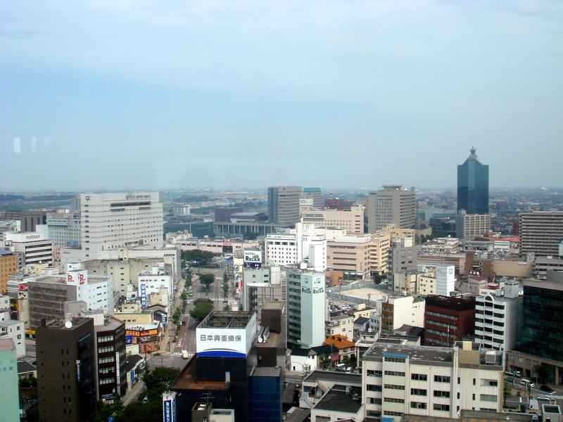 個別「[富山]富山市内・富山市役所展望台から」の写真、画像 ...