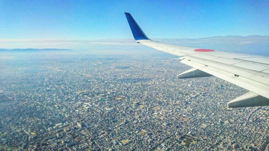 上空からの大阪