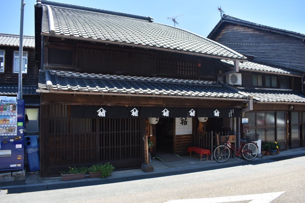 犬山城の城下町の旧磯部邸