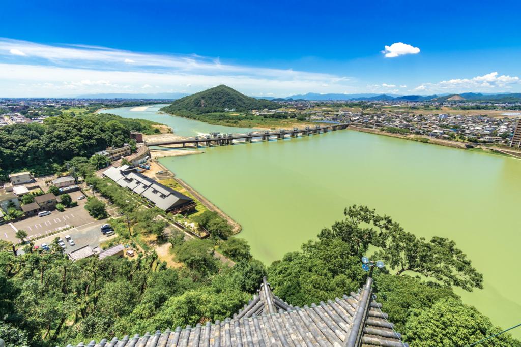 犬山城からの絶景
