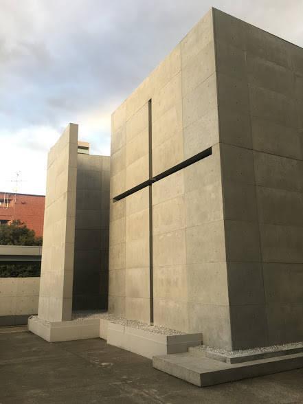 光の教会外観