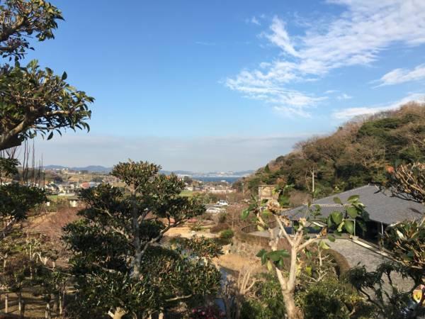 三浦霊園からの眺め