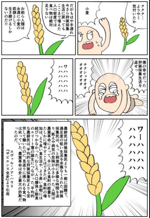 の 奴隷 小麦